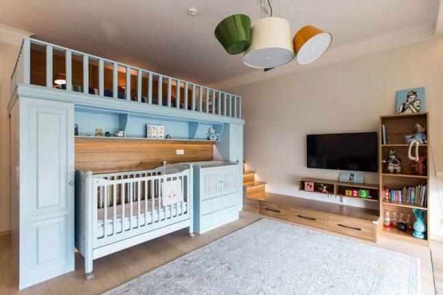 babykamer in de slaapkamer | interieur inrichting, Deco ideeën