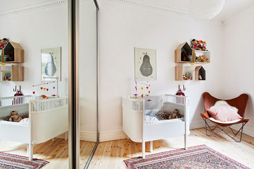 babykamer inrichten naast eigen slaapkamer interieur