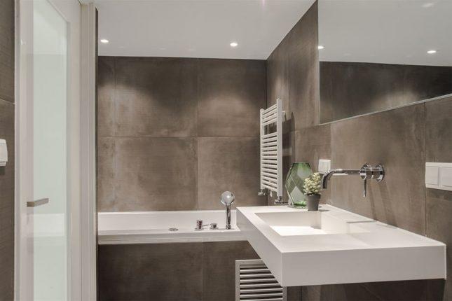 Kleine badkamer inrichting van 6m2 interieur inrichting - Klein badkamer model met douche ...