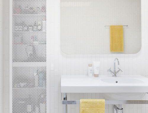 Badkamer van het Brick House project