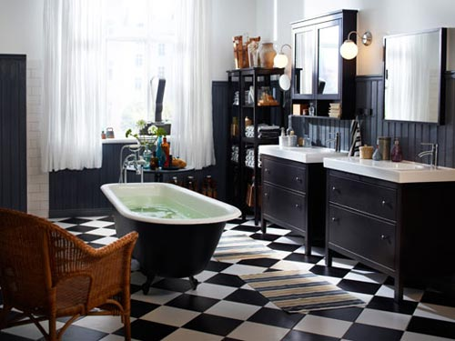 badkamer idee n van ikea interieur inrichting. Black Bedroom Furniture Sets. Home Design Ideas