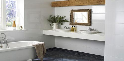 Badkamer ideeen grijs beste inspiratie voor huis ontwerp - Badkamer kleur idee ...