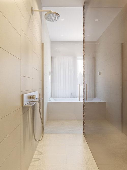 Badkamer idee n tegels interieur inrichting - Tegel patroon badkamer ...