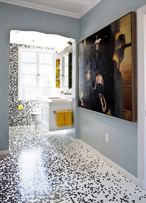 Badkamer ideeën tegels | Interieur inrichting