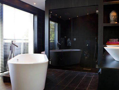 Badkamer met inloopdouche voor 2