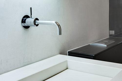 badkamer kraan uit de muur | interieur inrichting, Badkamer