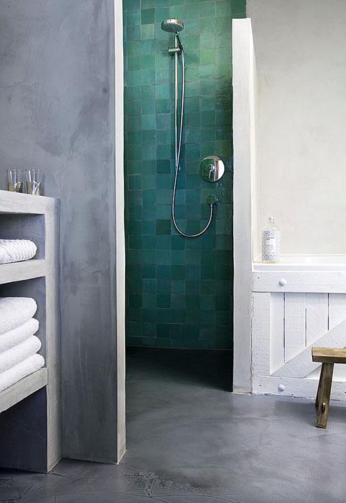 Badkamer met Marokkaanse tegelsInterieur inrichting | Interieur ...