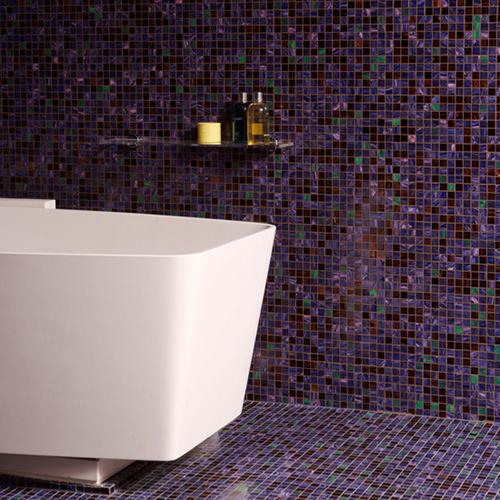 Badkamer ontwerpen met Mozaïek tegels  Interieur inrichting