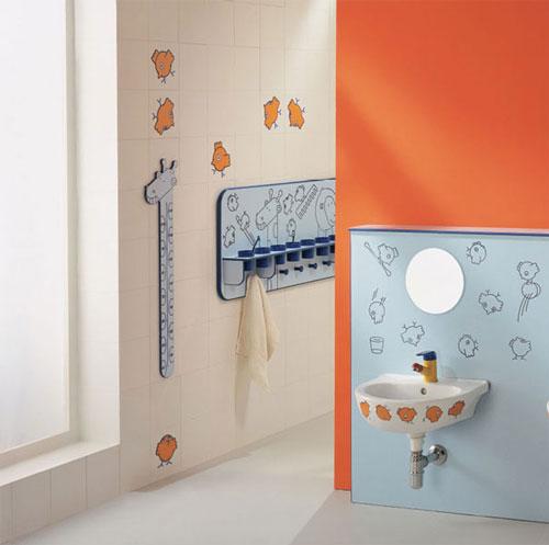 Badkamer sanitair voor kinderen interieur inrichting for Sanitarios infantiles