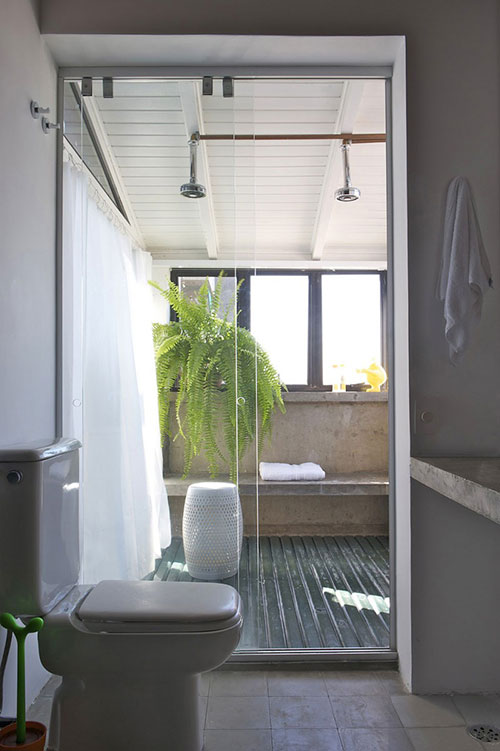 badkamer gordijn | digtotaal, Badkamer