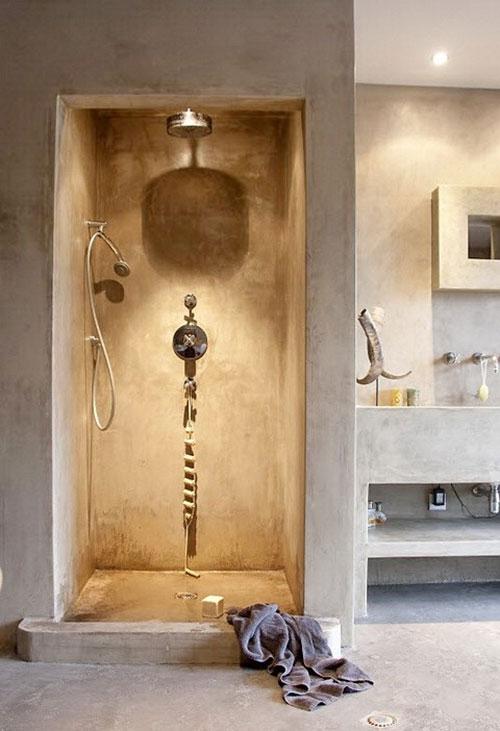 badkamers voorbeelden met inloopdouche hammam