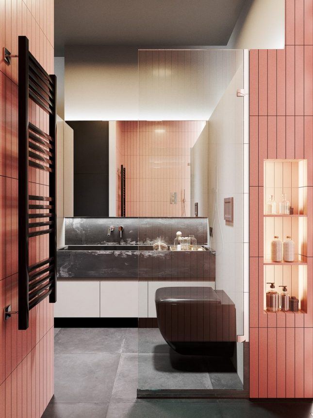 Badkamers voorbeelden zonder bad