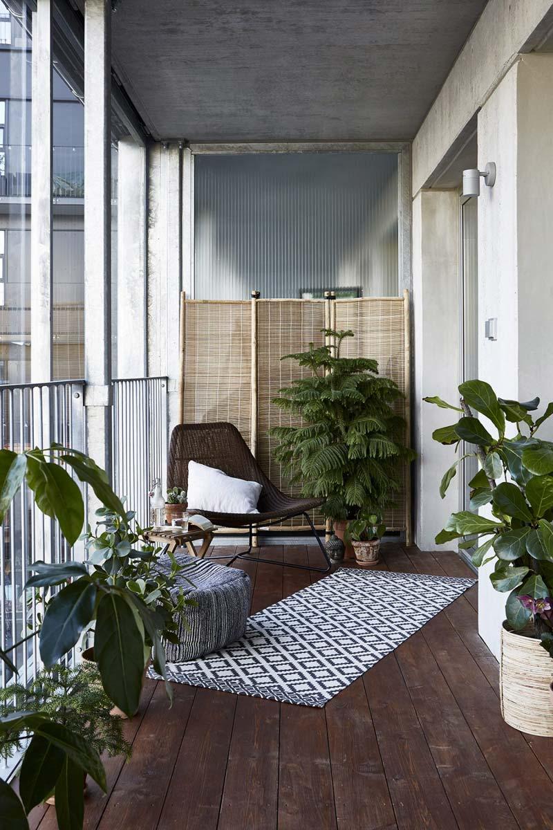 balkon knus industrieel tintje
