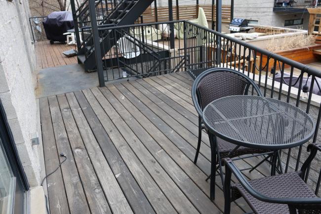 Balkon metamorfose van Casey