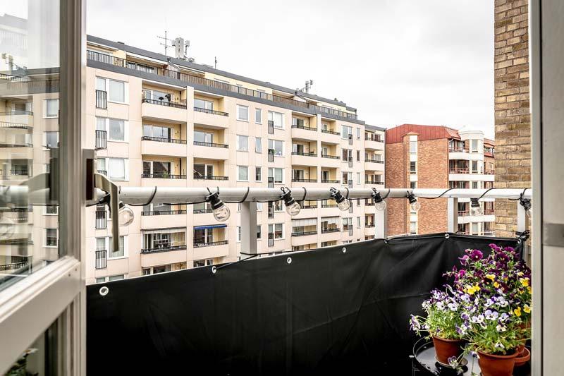 balkon planten balkonscherm
