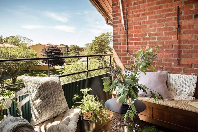 balkon planten inpandig balkon schaduw