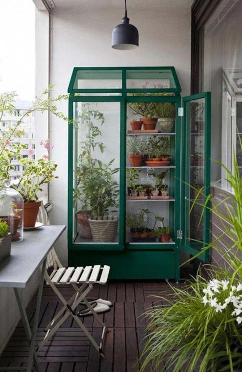 balkon planten kas