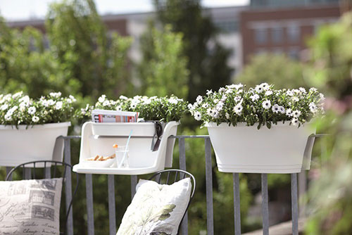 Balkon plantenbak