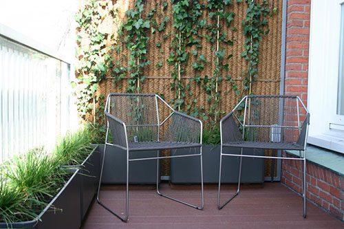 Balkon renovatie met composiet vlonderplanken