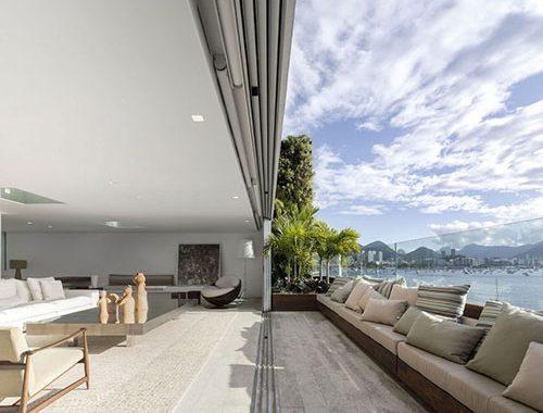 Balkon als verlengde van de woonkamer