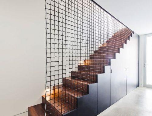 Balustrade netten voor de trap