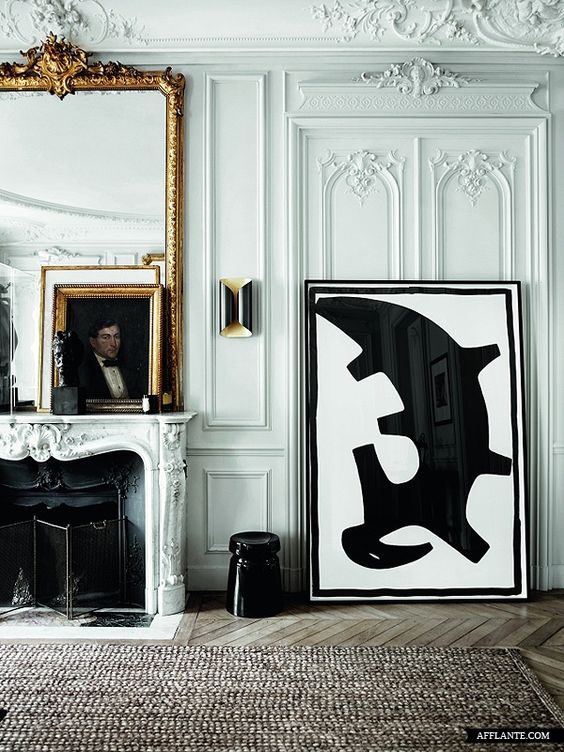 barok spiegel grote lijst