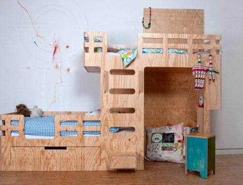 Bedstede door ontwerper Arnoud Dijkstra