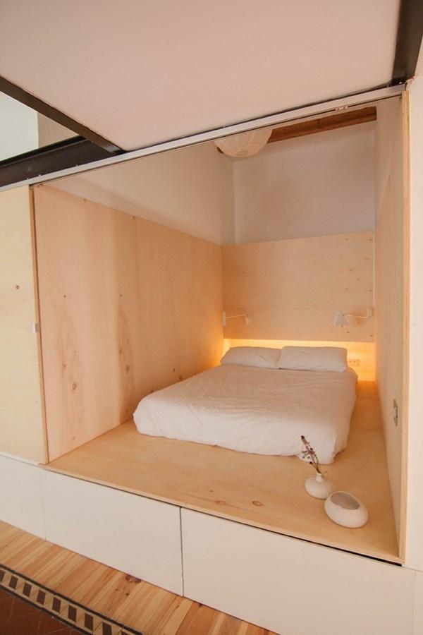 bedstede-slaapkamer-underlayment
