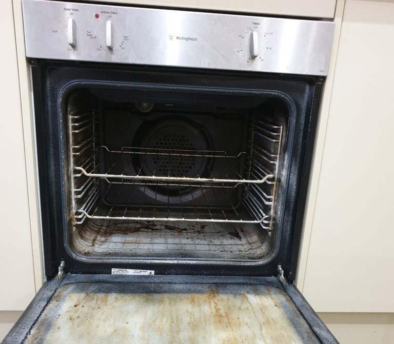 belang oven schoonmaken