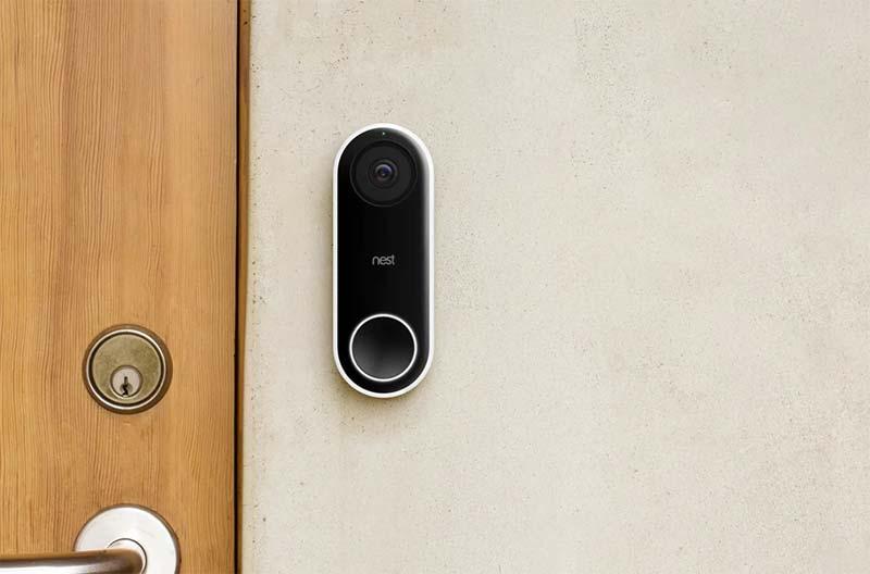beste deurbel met camera google nest hello