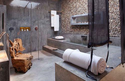 Betonlook badkamer