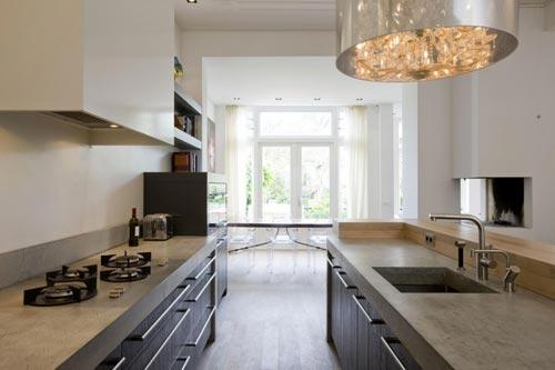 Stoere Keuken Ideeen : Betonnen keukenblad Interieur inrichting