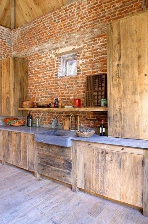Hoogglans Keuken Nadelen : Moderne Houten Keuken Met Composiet Keukenblad : Betonnen keukenbladen