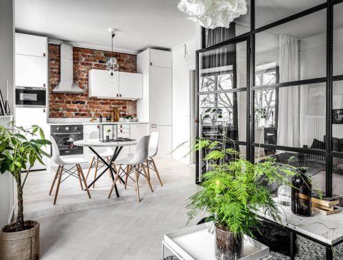 Leuke vloerkleed in de woonkamer interieur inrichting - Een klein appartement ontwikkelen ...