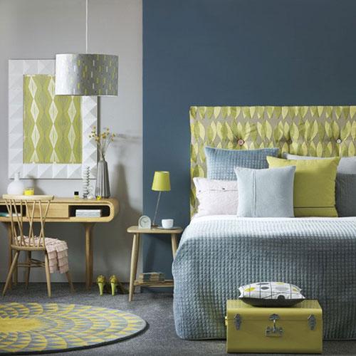 imgbd - slaapkamer blauw geel ~ de laatste slaapkamer ontwerp, Deco ideeën