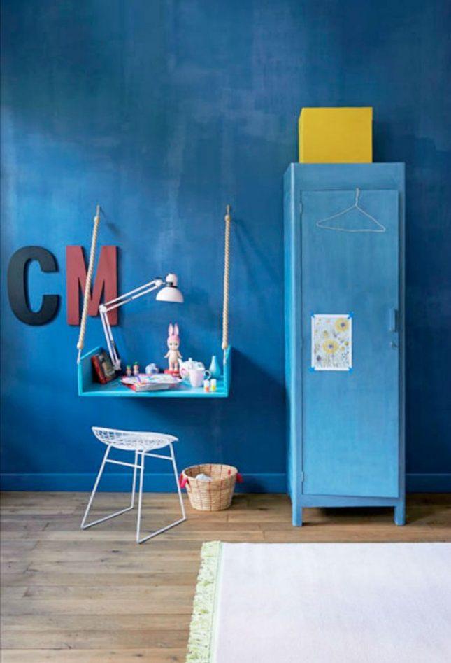 Blauw in kinderkamer inspiratie  Interieur inrichting