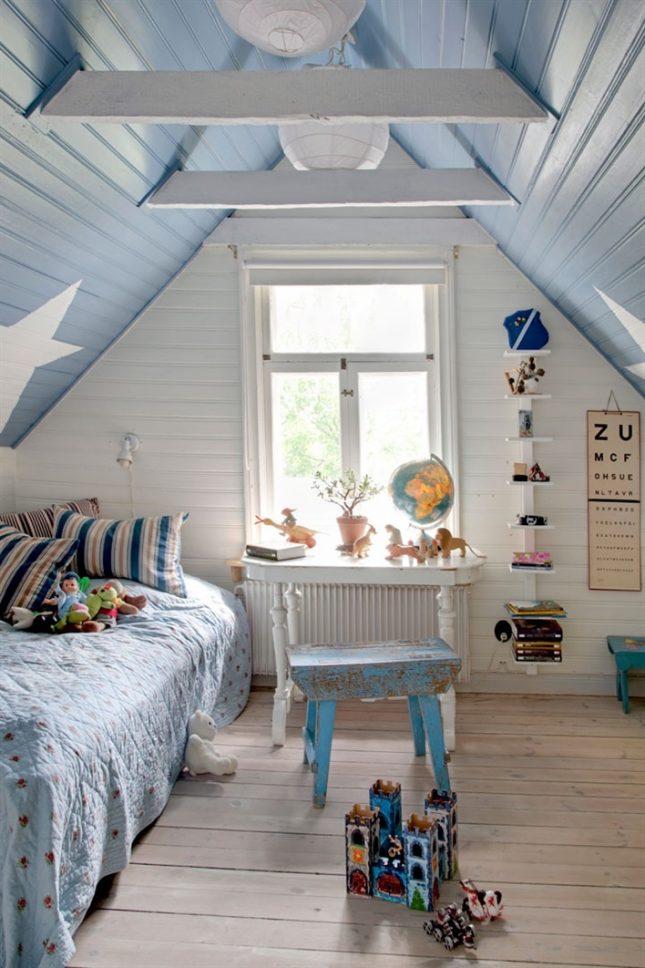 Kinderkamer Blauw : Blauw in kinderkamer inspiratie interieur ...