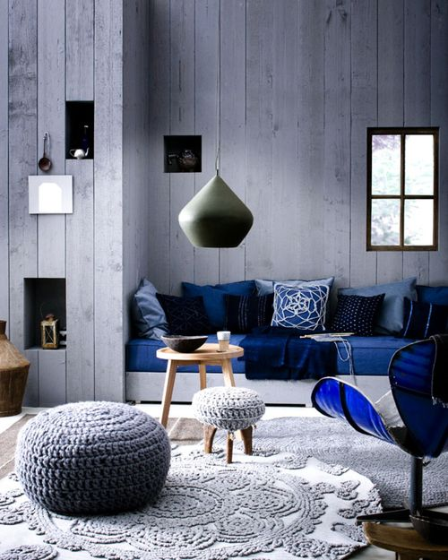 10x Blauw in interieurInterieur inrichting   Interieur inrichting