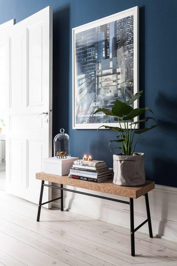 Woonkamer Ideeen Paars.Blauw In Interieur Interieur Inrichting