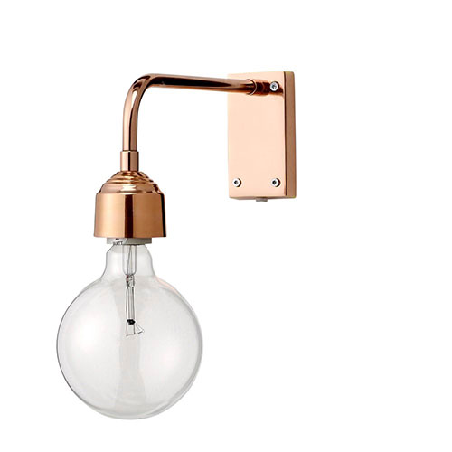 Bloomingville wandlamp koper
