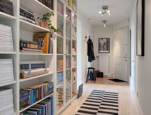 Boekenkast in de hal