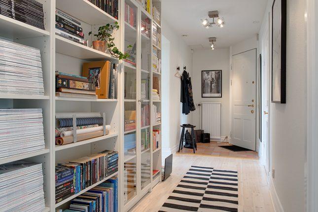 10x Hal Inspiratie : Boekenkast in de hal interieur inrichting