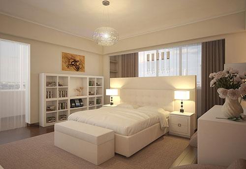 10 slaapkamers met boekenkast | Interieur inrichting