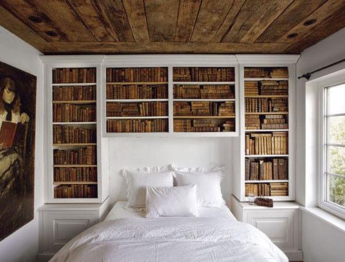 10 slaapkamers met boekenkast interieur inrichting