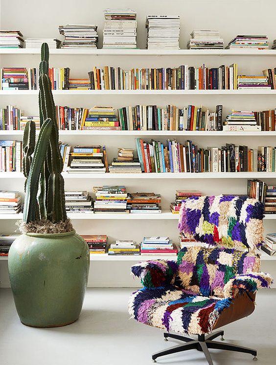 Boekenplank woonkamer