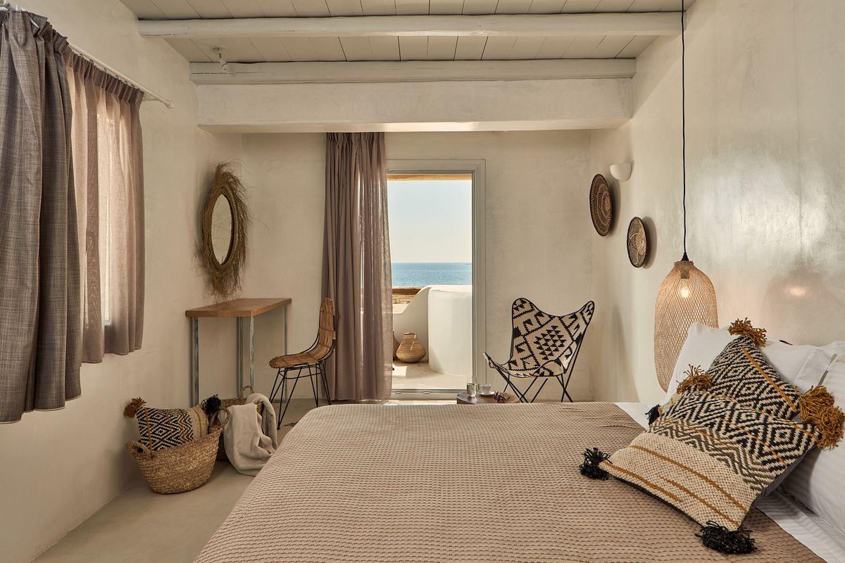 Bohemian Ibiza slaapkamer