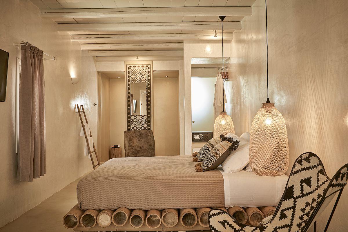 Bohemian Balkon Inrichting : Bohemian ibiza slaapkamer interieur inrichting
