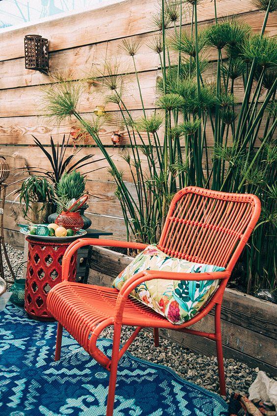 Bohemian tuin planten
