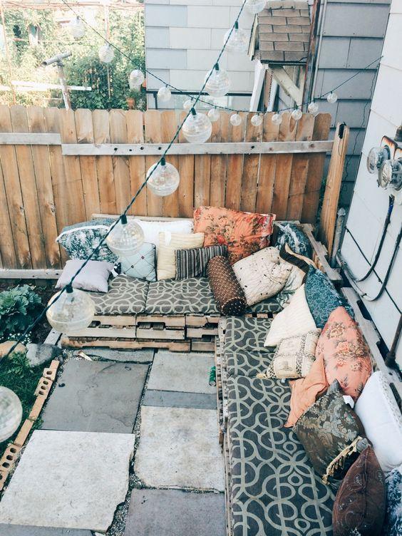 Bohemian tuin