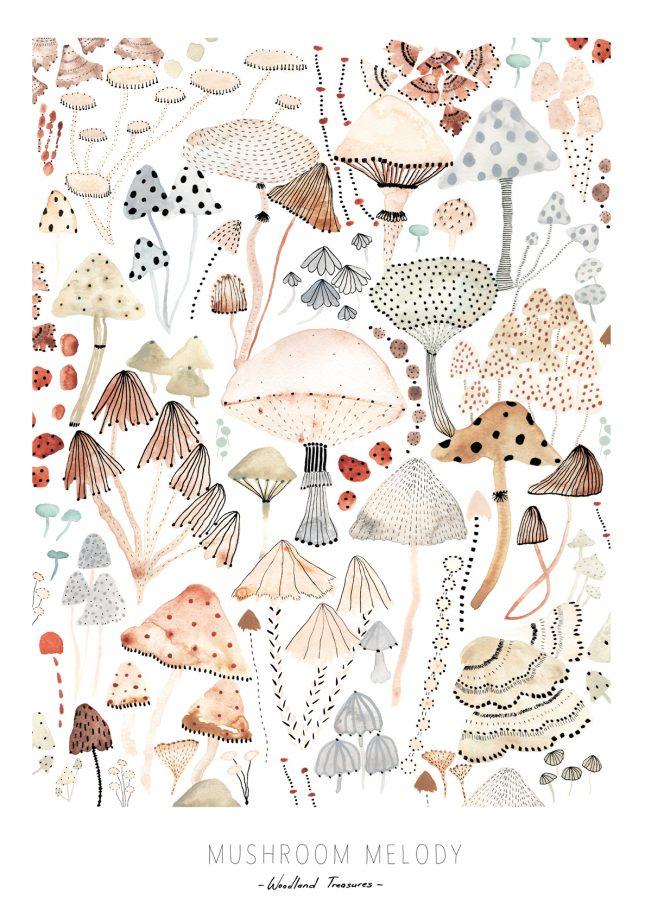De botanische posters van OHMYHOME